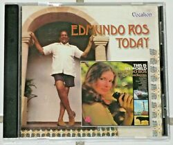 Edmundo Ros Today And This Is My World 2 Albums On 1 Cd Import Only One On Eba