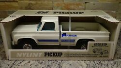 Nib Rare 1970and039s Vintage Nylint 4120-e Chevy C-10 Truck Fiat-allis Tractor Promo