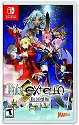 Fate/extella The Umbral Star For Nintendo Switch Rpg