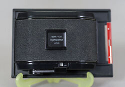 Horseman 6X7 Back for 4X5 Camera 8 Exposures on 120 Film Very Clean $99.00
