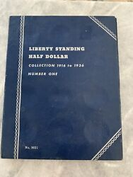 Liberty Standing Half Dollar Collection 1916 To 1936 Number One