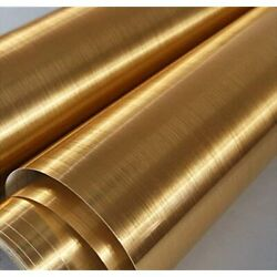 Gold Stainless Steel Wallpaper Self Adhesive Cleanable Removable Peel And Stick