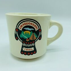 Vintage Amaquonsippi Trail Boy Scouts Of America Mug