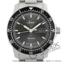 Sinn 104 Pilot Watch Menand039s 104.st.sa.ia Back Skeleton 200m Water Resistant