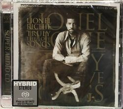 Lionel Richie Truly The Love Songs Hybrid Stereo Sacd Limited No. Japan