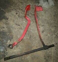 Massey Harris 44 Special Tractor Brake Pedals Foot Brakes And Shaft Mh Parts