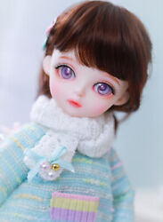 New Sweater Clothes Hair Wig Shoes For 1/6 Bjd Doll Miyo L