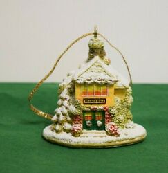 Lilliput Lane 'o'christmas Tree Ornament - Snowed - Mint In Box With Deed.