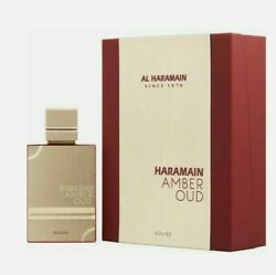Amber Oud Rouge By Al Haramain 2.0oz. Edp. Spray For Men. New In Box. Fast Shipp
