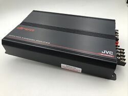 Jvc Ks-dr3004 Drvn Series Class-ab Bridgeable 4-channel Power Amp Fully Tested-