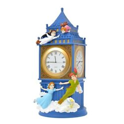 Disney Story Collection Peter Pan London Tower Clock Accessory Box Japan F/s New