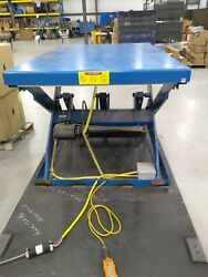 Tands Mfg Scissor Lifts 6000lbs. Cap 4and039x6and039 48 Lift 480v Safety Edge Switch