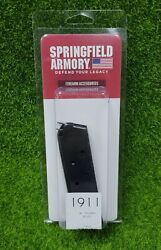 Springfield Armory Full Size 1911-a1 Series .45 7 Round Oem Magazine - Pi4523