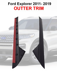 For 2011-19 Ford Explorer Windshield Outer Trim Pillar Molding Right Andleft Side