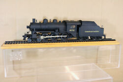 Ktm Kit Built O Scale 1940and039s Livery Canadian Pacific Cp 4-6-0 D10 Loco 672 N