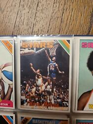 1975-76 Topps Basketball Complete Set 330/330 Very Good + Extra Malone And Wilkes