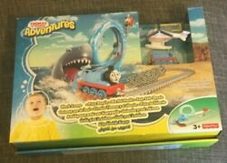 Fisher-price Thomas And Friends Adventures Set Shark Escape Brand New