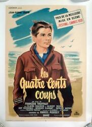 400 Coups - 400 Blows - Truffaut / New Wave - Original French Movie Poster