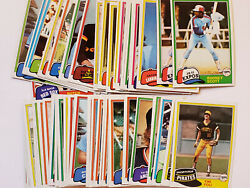 1981 Topps Baseball Trading Cards 501-726 You Pick 50 Off 4+ Upd 7/9/21