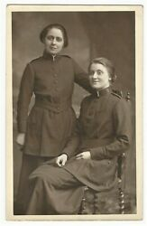 Two Salvation Army Ladies In Uniform In Enfield, England