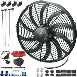 14 Inch 180w Electric Engine Radiator Cooling Fan Bar Toggle Switch Wiring Kit