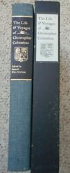 Life And Voyages Christopher Columbus Morison Limited Editions Club 1963 Signed
