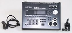 Roland Td-30 Drum Brain Module V-drums With Power Supply And Mount