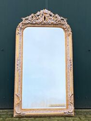 Unique French Louis Xvi Style Mirror - Worldwide Shipping