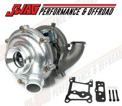 Performance Turbo With Polished Housing And Billet Wheel For And03917-19 6.7l Ford 6.7