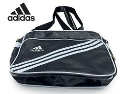 Adidas Enamel Shoulder Cross Bags Black Running Casual GYM Bag $45.99