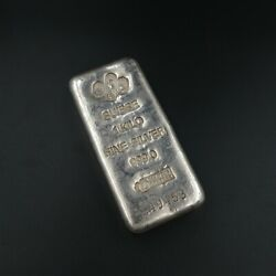 Pamp 1kg Silver Bullion Bar With Free Post Tracked And Insured.