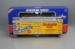 Usa Trains 16444 G Scale Old Master Beer Reefer 2080