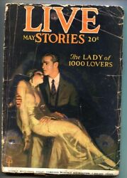 Live Stories May 1924-enoch Bolles-woman Drug Addict-spicy Pulp-rare