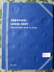 And039partial Setand039 1859 -1920 Large Cents Canada And039total Of 22 Coinsand039
