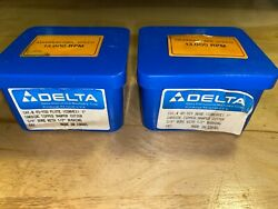 Delta 45-929 And 45-930 1 Bead And Flute Shaper Cutter Set Made In Israel 3/4 Bore
