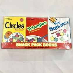 Vintage Snack Pop Up Books Child Cereal Boxes 1995 First Edition Shapes Nos