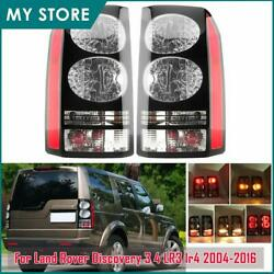 For 2004-2016 Land Rover Discovery 3 And 4 Rear Tail Light Brake Lamp Left Righ