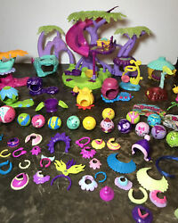 Huge Zoo Bled Lot Zoobles Treehouse16 Zoobles11habitats40 Dress Up Pieces