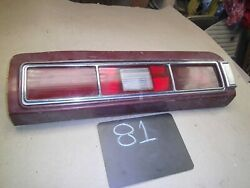 1973 1974 Gto Grand Am Can Am Taillight Pontiac Lemans Left Tail Light Assembly