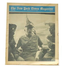 New York Times Magazine Wwii June 10 1945 Halsey Hunting Again