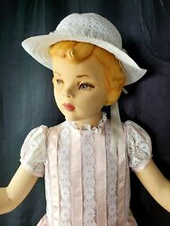 38vintage American Fixture St Louis Mi Young Girl Mannequin 50s Or 1960s Size 7