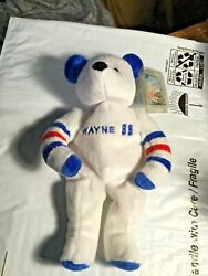 Wayne Gretzky- Salvino's Bammers Hockey 2000 - Bear See Pictures Beanie Baby