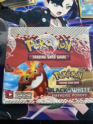 Pokemon Tcg Black And White Emerging Powers Booster Box Factory Sealed Minty Fresh