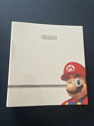 Very Rare Nintendo Employee Binder Mario Donkey Kong With All Inserts Authentic