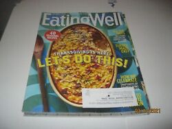 Eating Well Magazine Nov 2020 Thanksgiving Is Here Lets Do It 40 Recipes