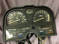 Suzuki Gs1100e Gs750e Gauges Instrument Cluster 1980 1981 80 81 Tested Lo Miles