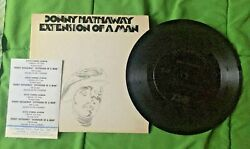 Donny Hathaway Extension Of A Man Compact Jukebox Ep 33 Rpm. Mini Lp W/ Strips