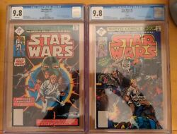 Star Wars 1 And 2 Cgc 9.8 2nd Print Super Rare In Grade