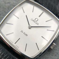 Omega De Ville 111.0149 Hand-winding Cal.625 Ss Square 31mm Authentic Vintage
