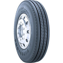 2 New Firestone Fs560 Plus 255/70r22.5 Load H 16 Ply Steer Commercial Tires